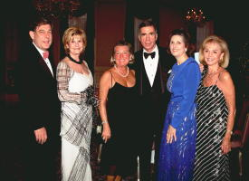 Sen. and Mrs. Robb and gala guests