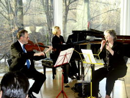 VCO musicians perform at musicale