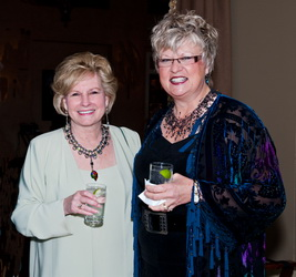 Lynn Tadlock with Betty Farrell